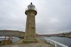 7936   Navigation lighthouse on a pier
