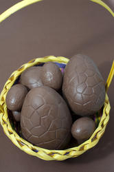 7904   Opened chocolate Easter Eggs