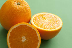 11794   Whole and halved fresh orange