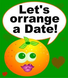 9365   orrange a date