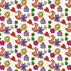 10871   patterns doodle wallpaper