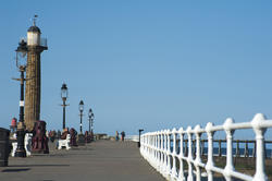 8047   View along the West Pier at Whitby