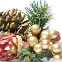 11570   Pine cone Christmas decoration