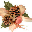 11571   Festive Christmas bundle with pine cones