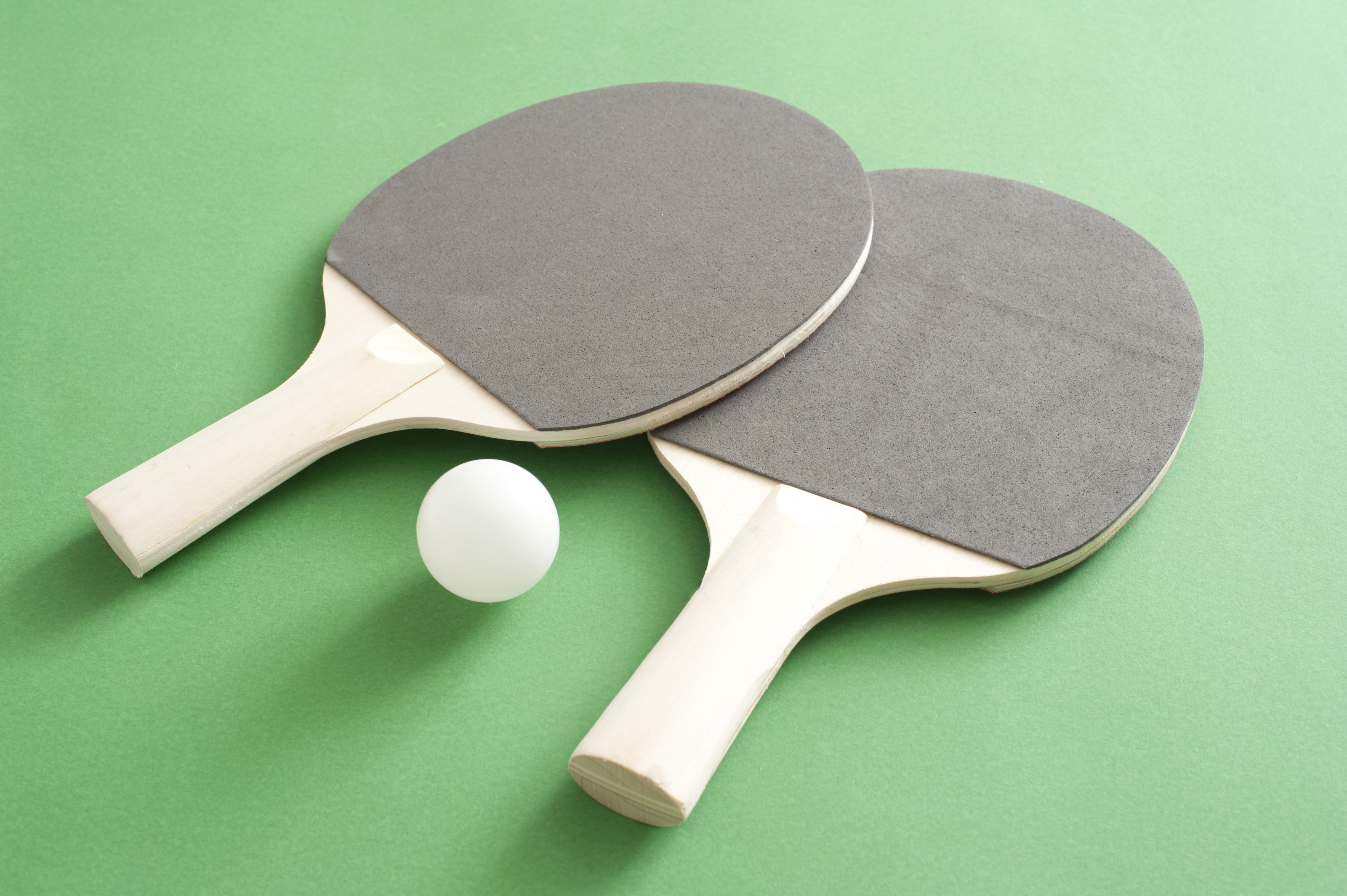 Free Stock Photo 10993 Table tennis bats and ball ...