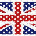 9070   polka dot union jack