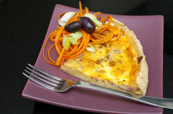 8465   Slice of savoury quiche