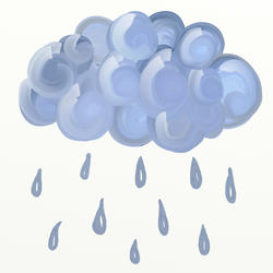 9499   rain cloud 0