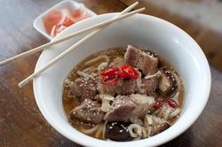 8508   Japanese ramen in a bowl