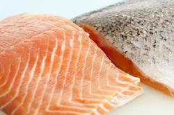 8427   Two fresh salmon steaks