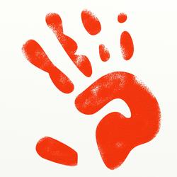 8953   red handprint