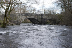 8765   Skelwith Bridge and the Skelwith River