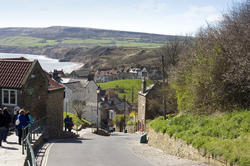 7990   Robin Hoods Bay village
