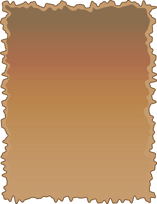 <p>Rough brown paper background - clip art illustration.</p>
