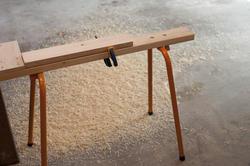 10179   Saw horse in a carpenters workshop