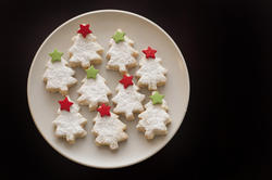 8518   Decorative seasonal Christmas biscuits
