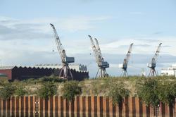 10794   Dockyard cranes and warehouses
