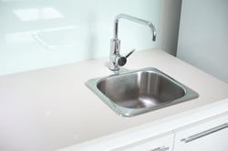 10663   Stainless steel sink and faucet