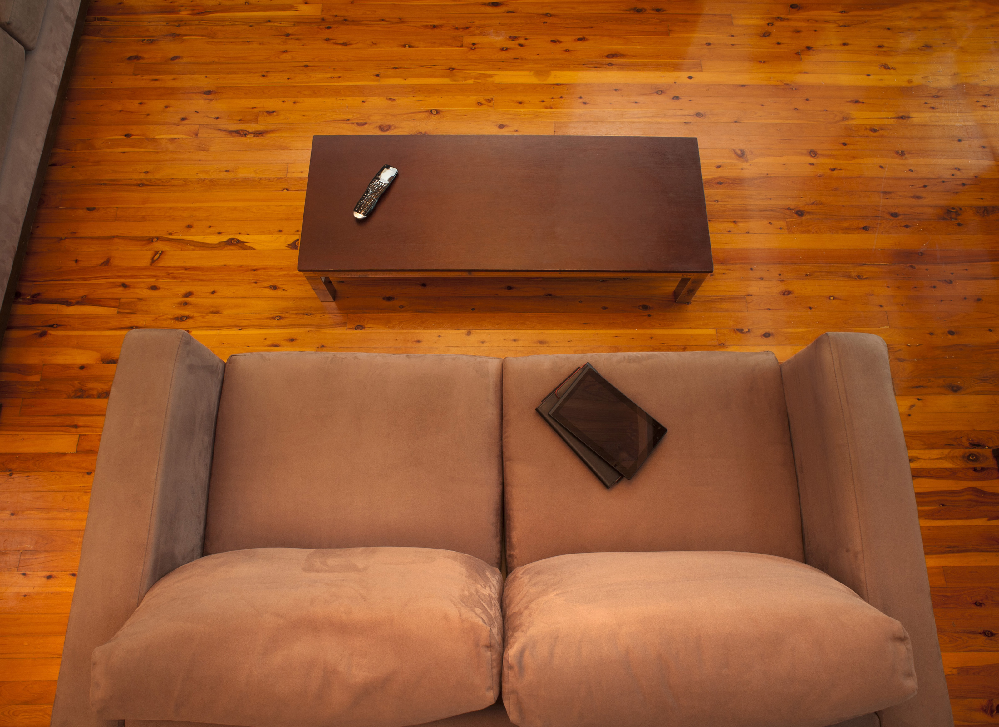 Free Stock Photo  View From Above Of An Empty Lounge