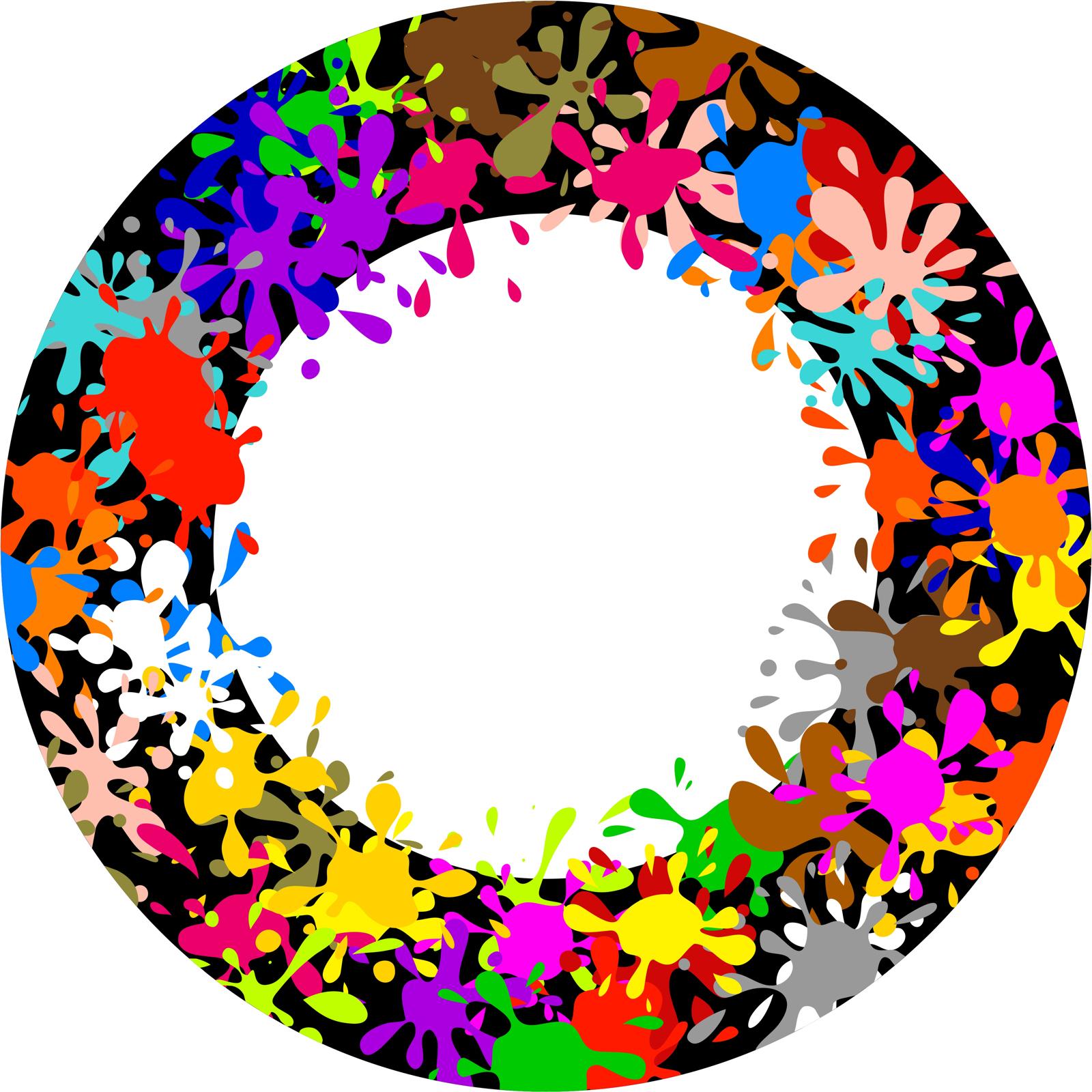 Splatter Paint Single Color