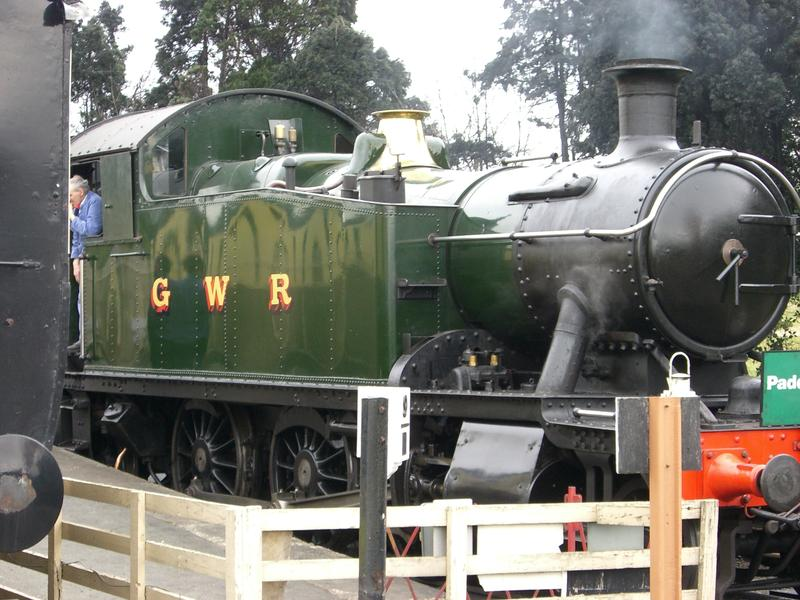 <p>GWR Steam Locomotive</p>