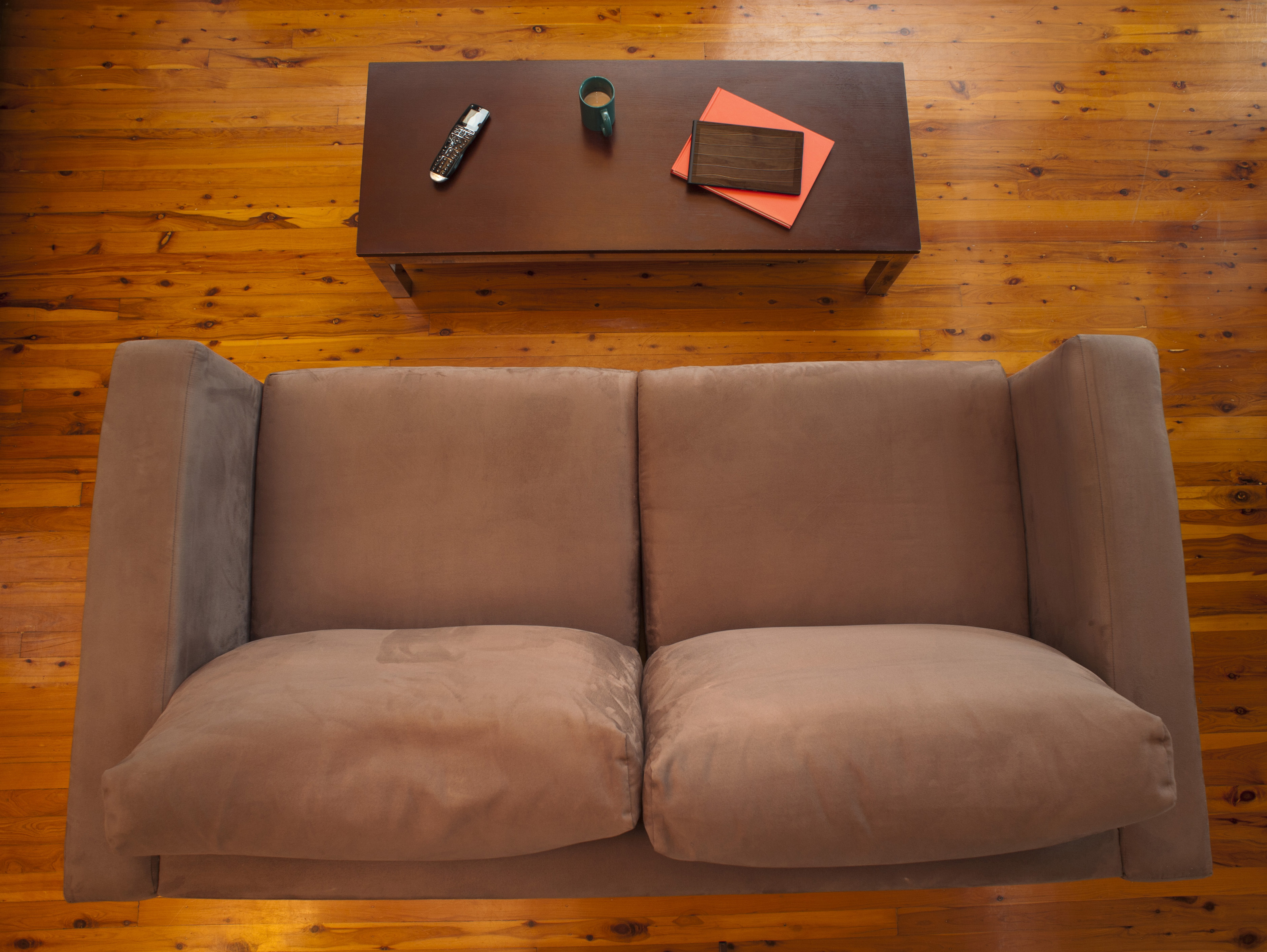 Free Stock Photo 8841 Overhead View Of A Comfortable Living Room