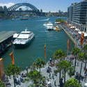 10698   Ships at Beautiful Harbour in Sydney Australia