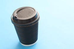 10463   Brown plastic takeaway cup