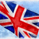 9072   union jack water illustration