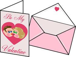 9360   valentines card