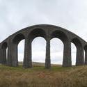 7733   Ribblehall viaduct   fisheye view