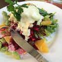 10496   Warm fish salad
