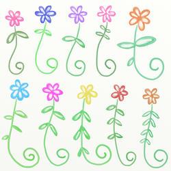 10359   watercolour doodles