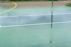 11010   Wet all weather sports court