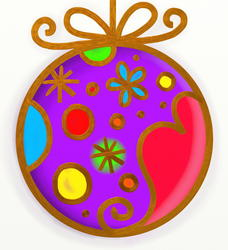10360   whimsypaint christmas bauble
