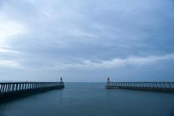 7997   Breakwater navigation beacons