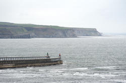7941   Whitby breakwaters and headland