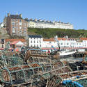 7863   Lobster pots in Whitby, North Yorkshire