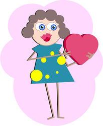 9358   woman in love