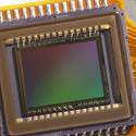 13757   CCD chip close up