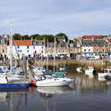 12882   Boats in Harbor in Village of Anstruther