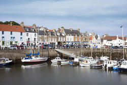 12883   Docked boats in Anstruther, Scotland