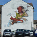 17050   Street Art / graffiti art in Blackpool