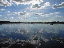 12431   beautiful reflective waters