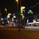 16792   Blackpool Illuminated Tram speeding