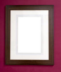 13093   Plain blank wooden picture frame