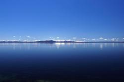 12230   Blue Yellowstone Lake and Sky