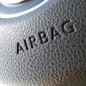 16338   Close up on airbag logo