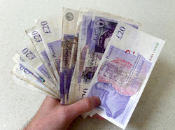 12903   cash in hand pounds sterling 2