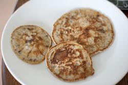 12321    fried chocolate chip pancakes